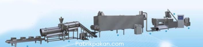 Pet and animal food/ fish feed process line