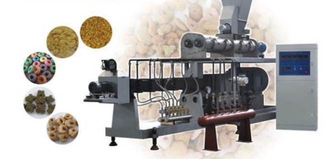 Large-size double screw extruder