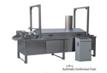 Series of fryer, de-oil and oil filter machine