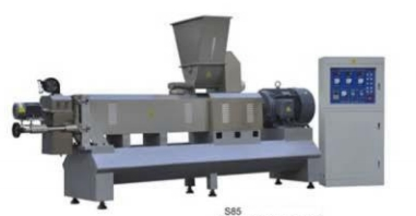 Series of double screw extruders