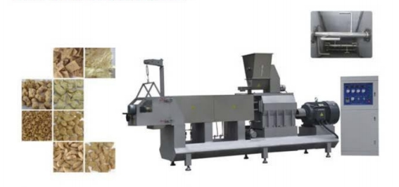 series of double screw extruder model DL75